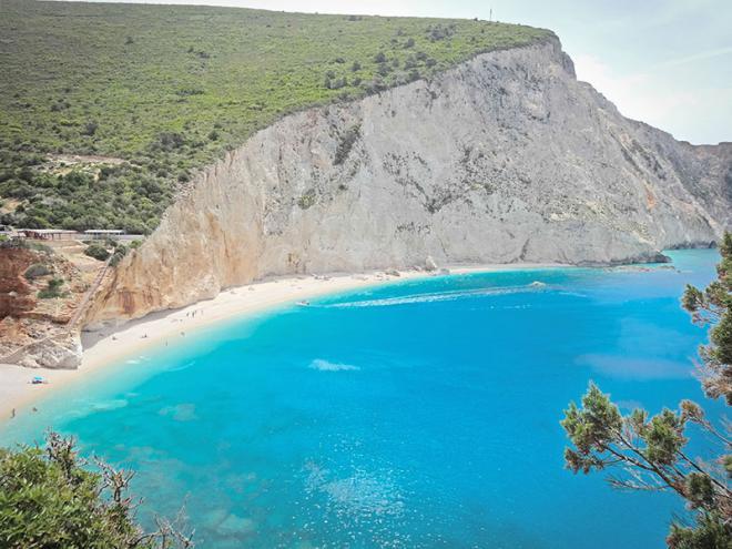 Griekenland-Lefkas-Porto-Katsiki-strand-68ed