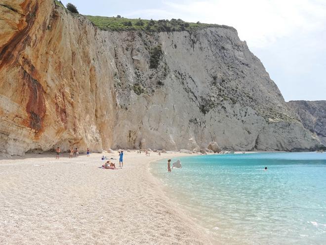 Griekenland-Lefkas-PortoKatsiki-strand-dsc01544ed