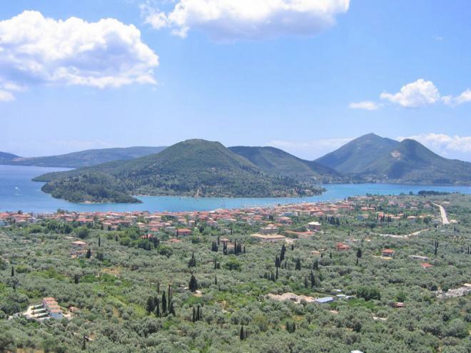 Griekenland-Lefkas-Nidri-vanaf-Amalia