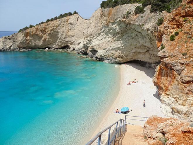 Griekenland-Lefkas-PortoKatsiki-strand-dsc01531ed
