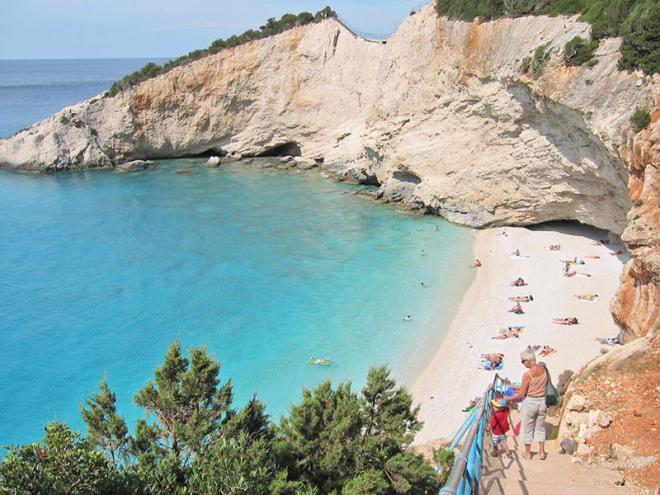 Griekenland-Lefkas-Porto-Katsiki-strand-jacobs0004ed