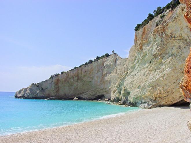 Griekenland-Lefkas-Porto-Katsiki-strand-14ed