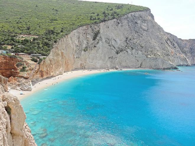 Griekenland-Lefkas-PortoKatsiki-strand-dsc01504ed